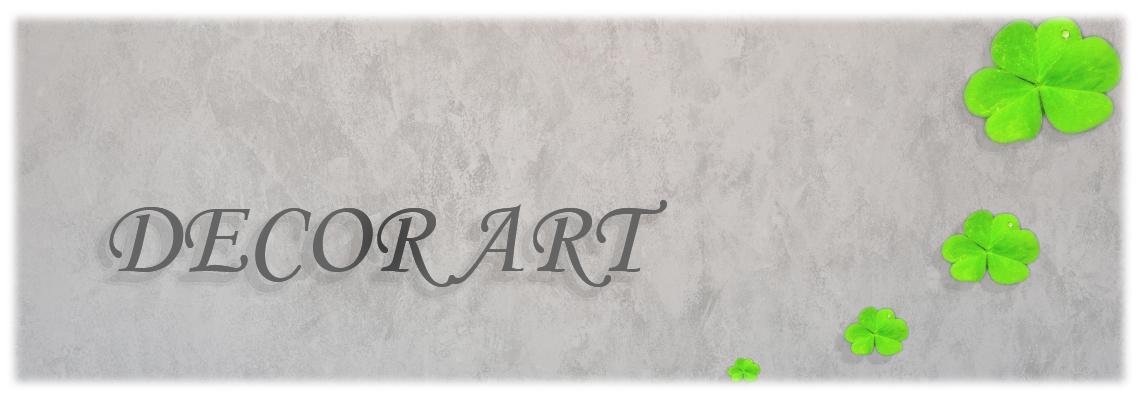 Decor Art - mortare decorative - monocomponent, bicomponent si tricomponent