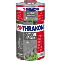 Lac poliuretanic  THRAKON DECOR PU VARNISH MAT 1 Kg