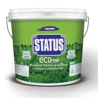 Vopsea lavabila plastifiata STATUS ECOMAT 10 Lt