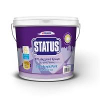 Vopsea lavabil STATUS 100% ACRILIC 3 Lt